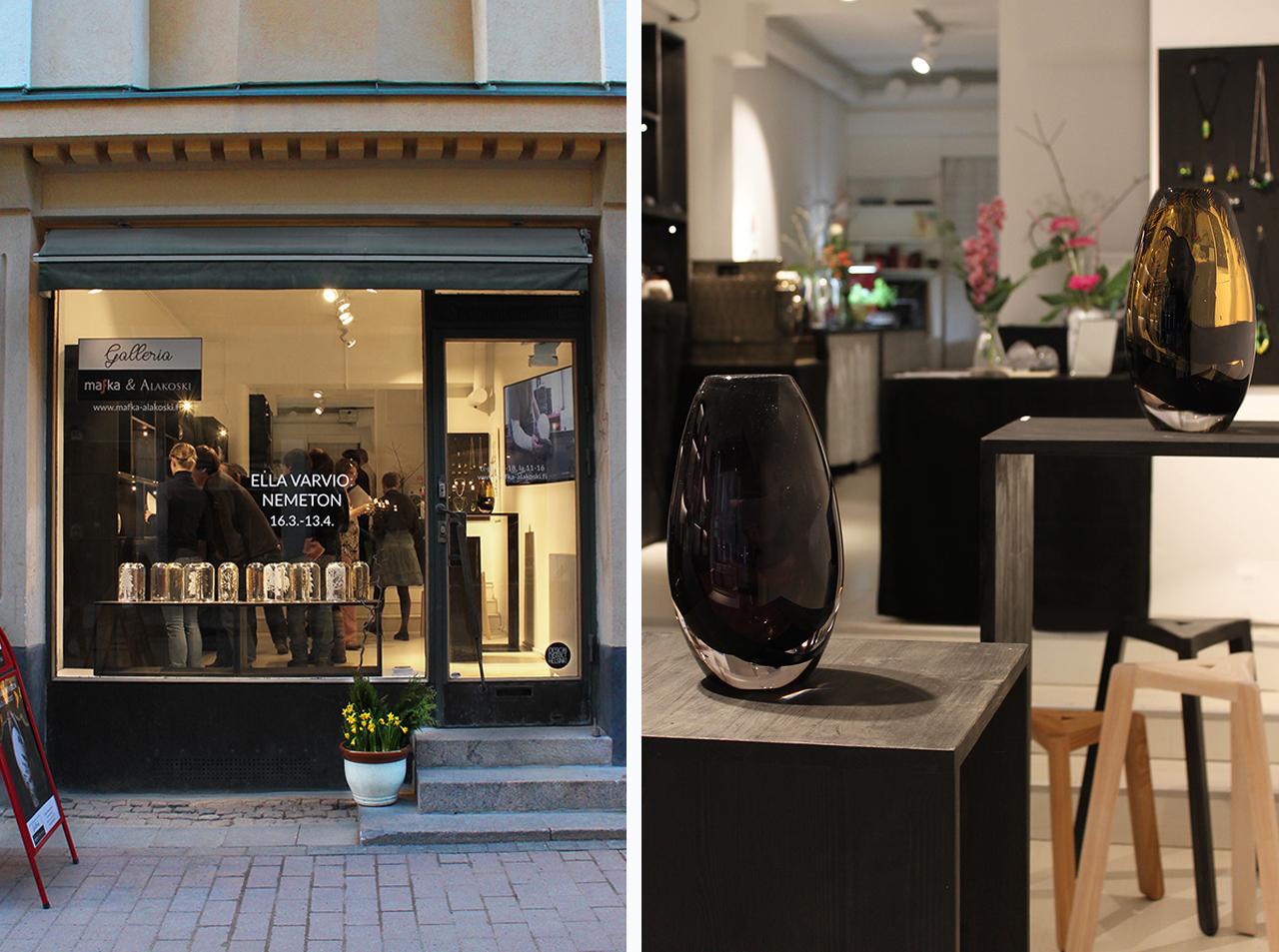 Ella Varvio taiteilijatapaaminen ja Design District ilta torstaina 6.4.