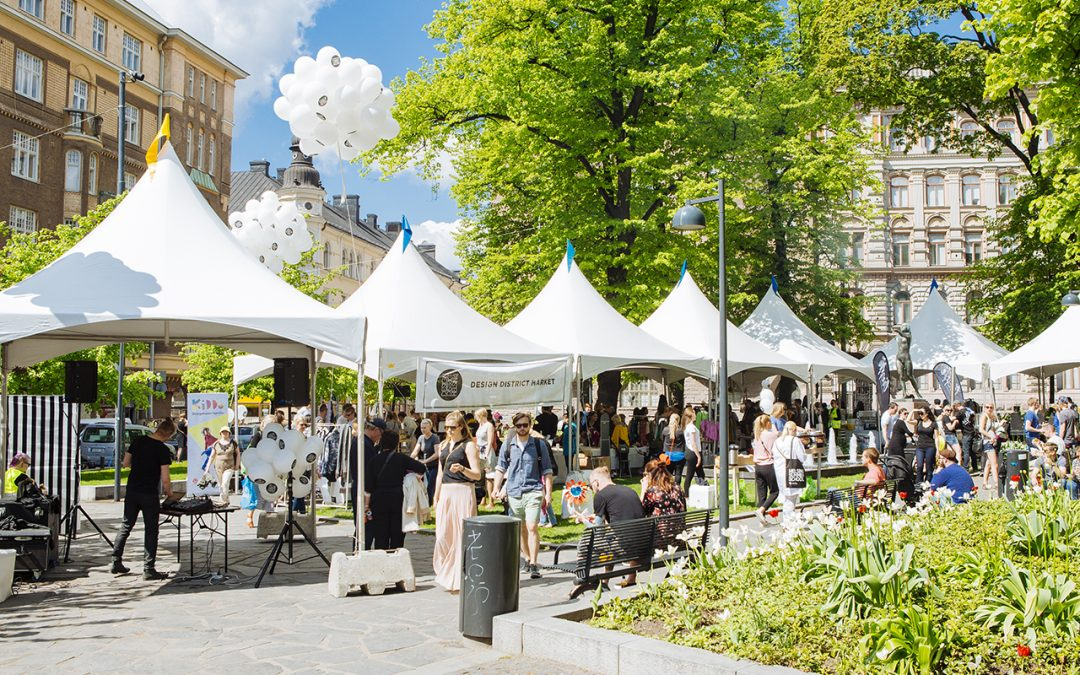Ihana Helsinki & Design District Market