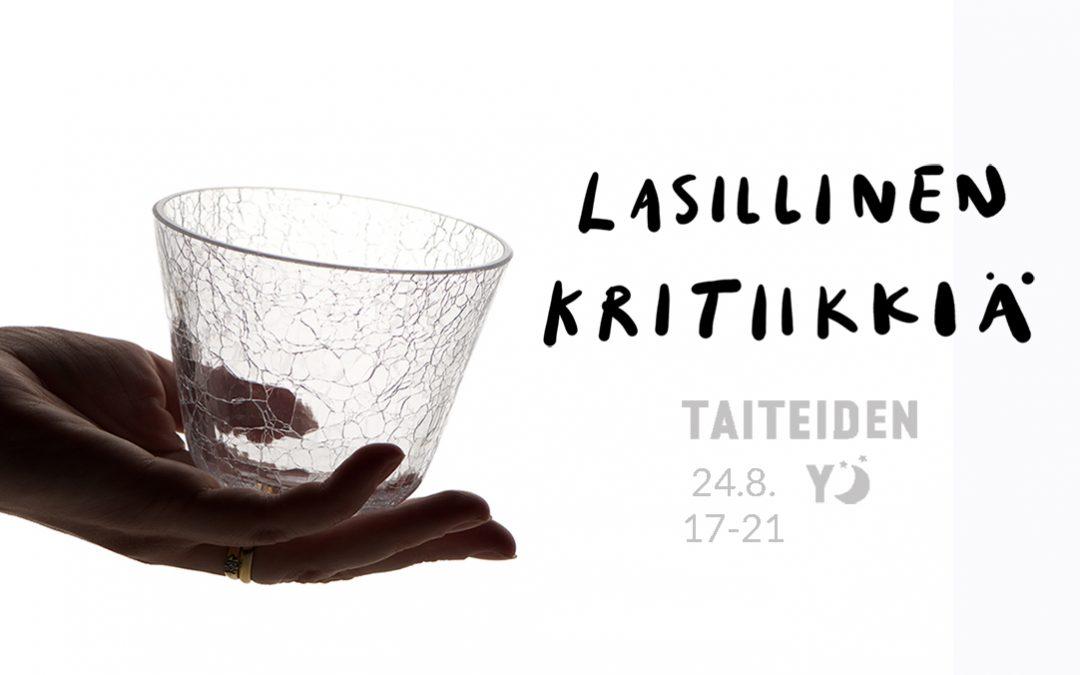 Lasillinen kritiikkiä Helsingin Taiteiden Yönä