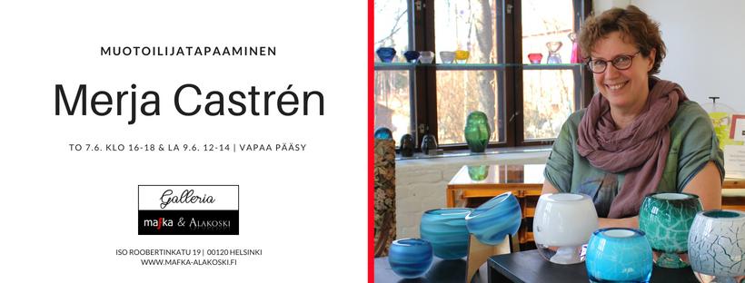 Merja Castrén Ikuinen jää lasitaidenäyttely