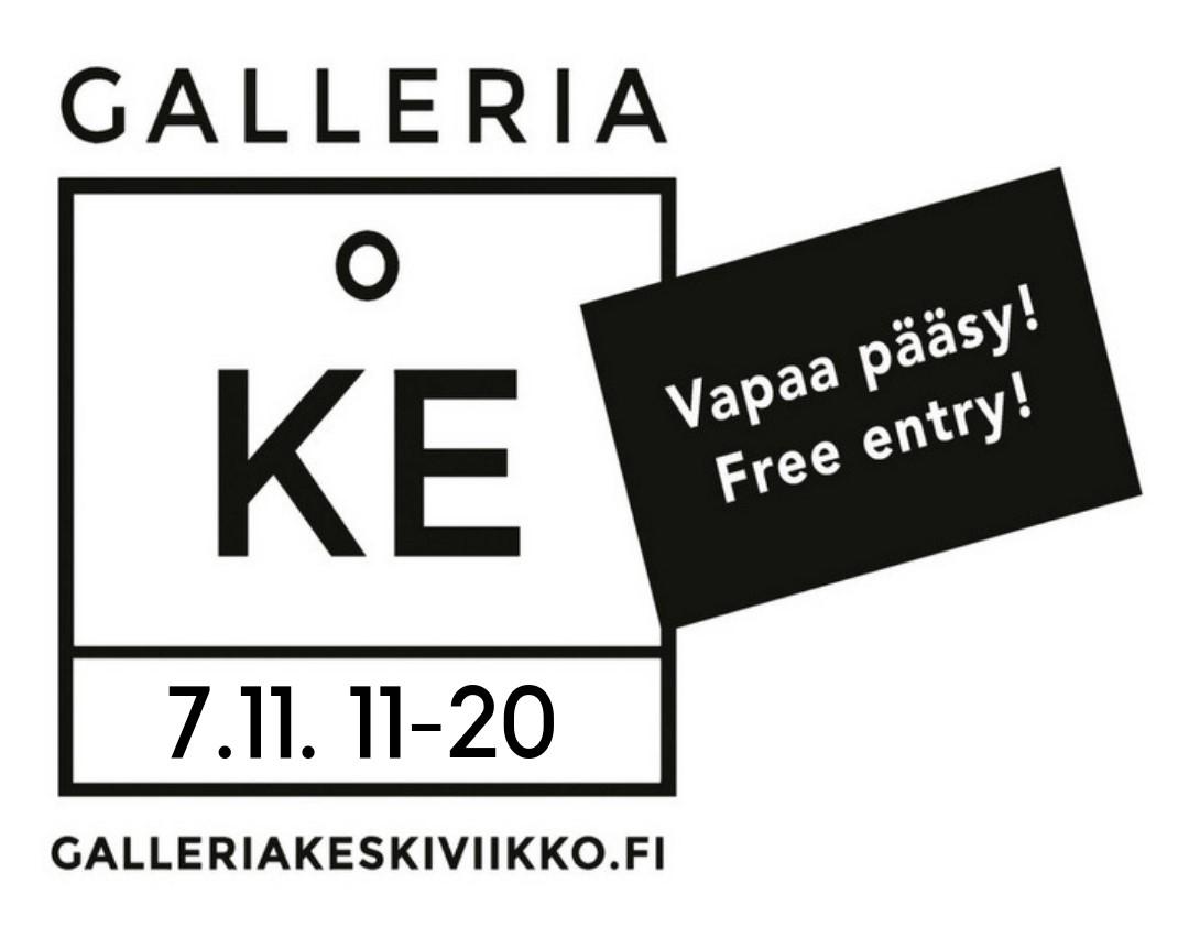 GalleriaKeskiviikko marraskuu 2018 / Marja Hepo-aho: Veen emäntä