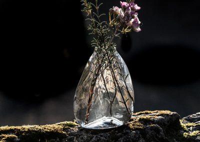 Jäähelmi -vaasi