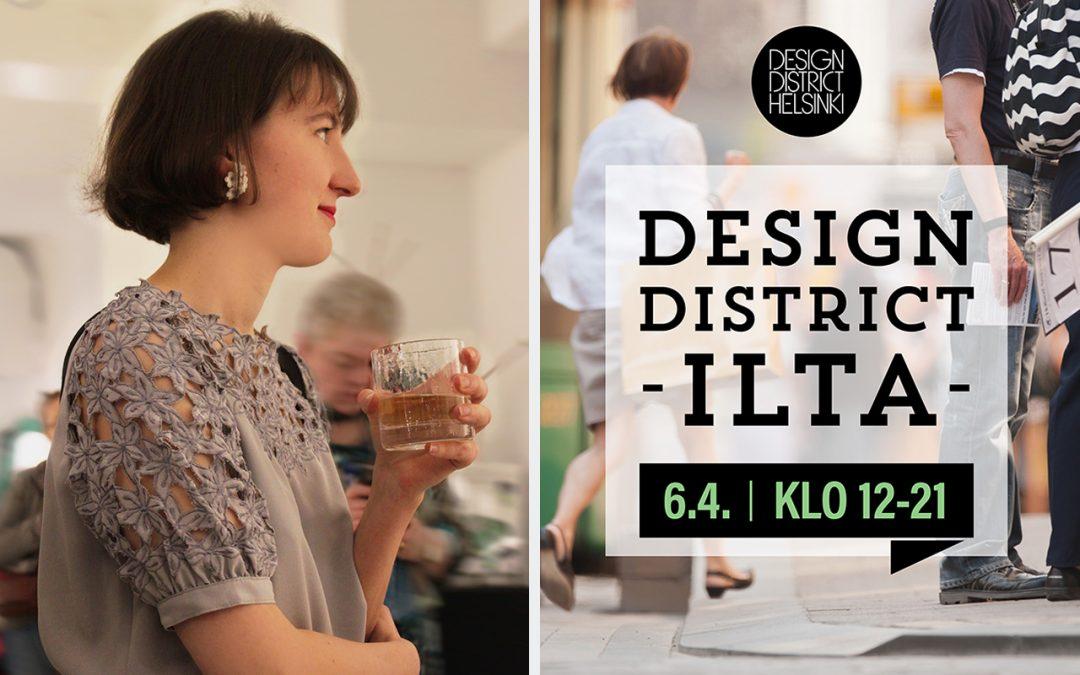 Ella Varvio artist meeting and Design District Eve